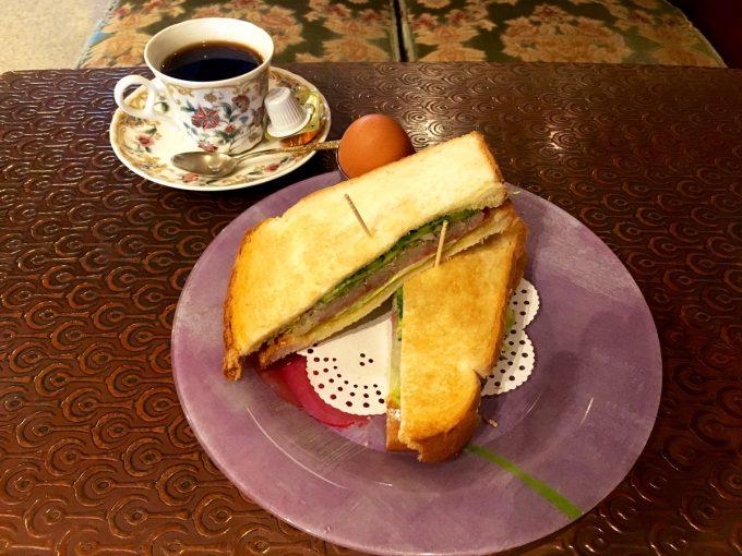 喫茶クレオパトラ モーニング
