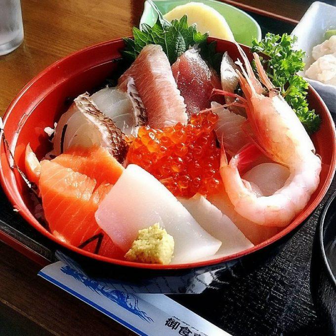 岬 海鮮丼 岩手