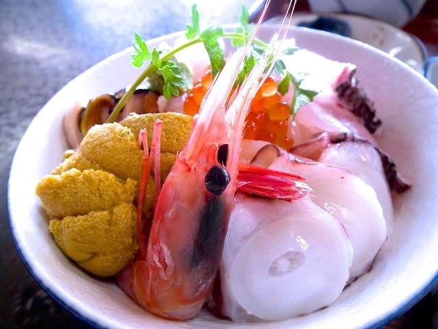 龍宮館 秋田 海鮮丼