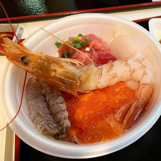 青森海鮮丼 青森魚菜センター 海鮮丼