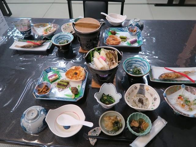蟹場温泉 夕食
