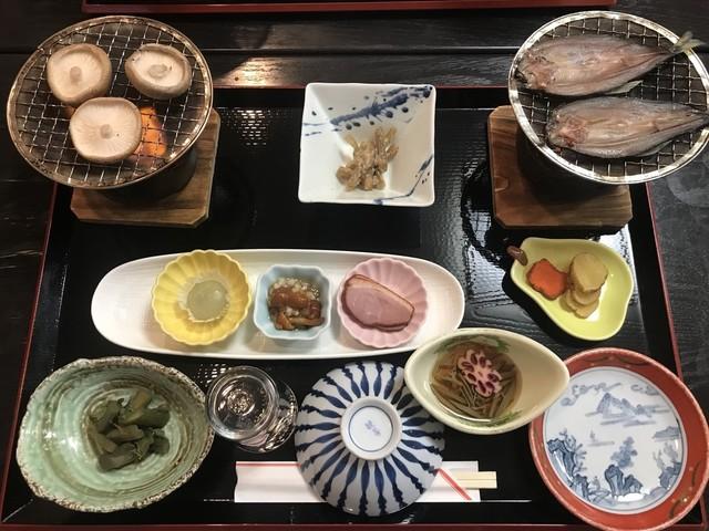 大釜温泉 食事