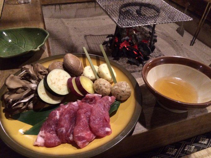 鶴の湯温泉 夕食