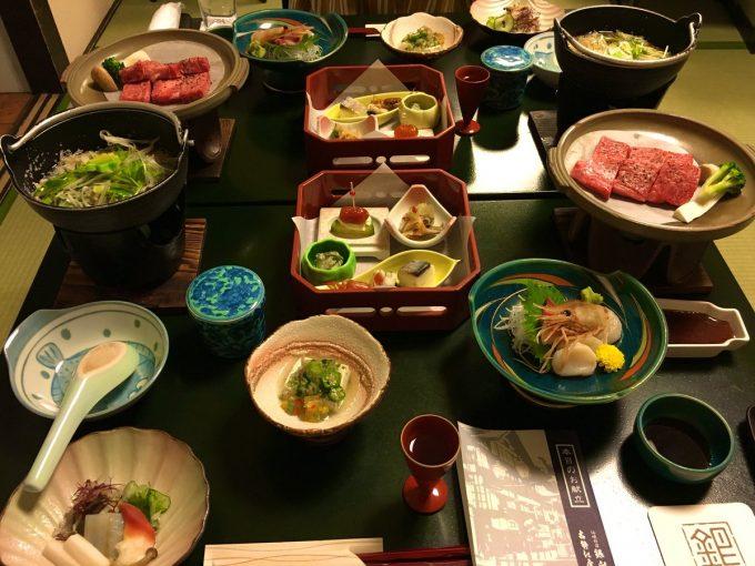 銀山温泉 夕食