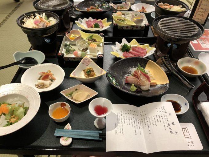 銀山荘 夕食