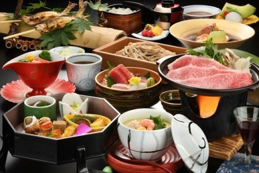 銀山 瀧見館 夕食