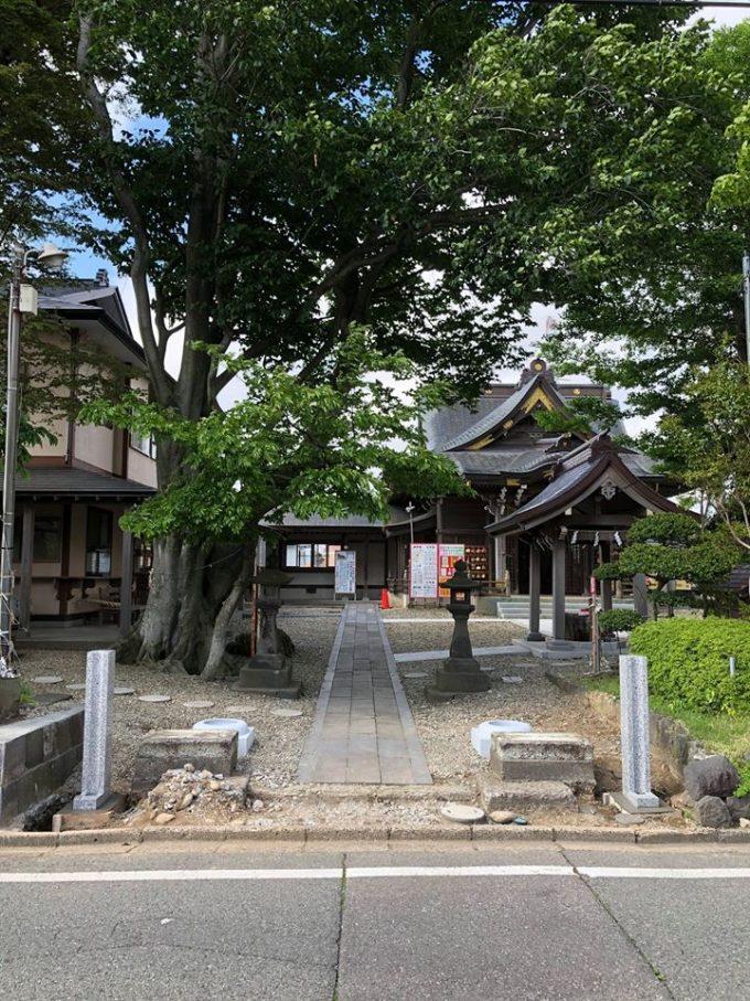 秋田 パワースポット三皇熊野神社本宮