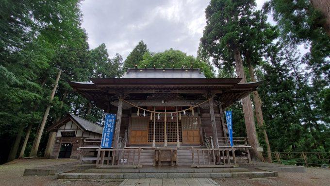 秋田 パワースポット角館總鎭守 神明社