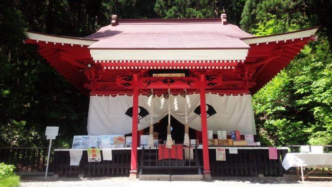 秋田 パワースポット御座石神社