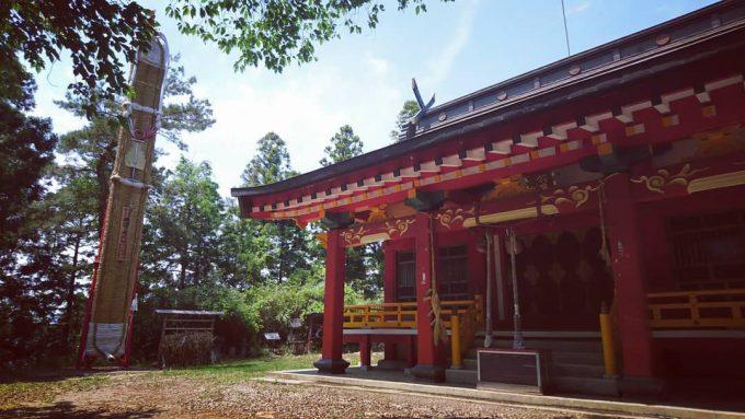 福島県 パワースポット 羽黒神社