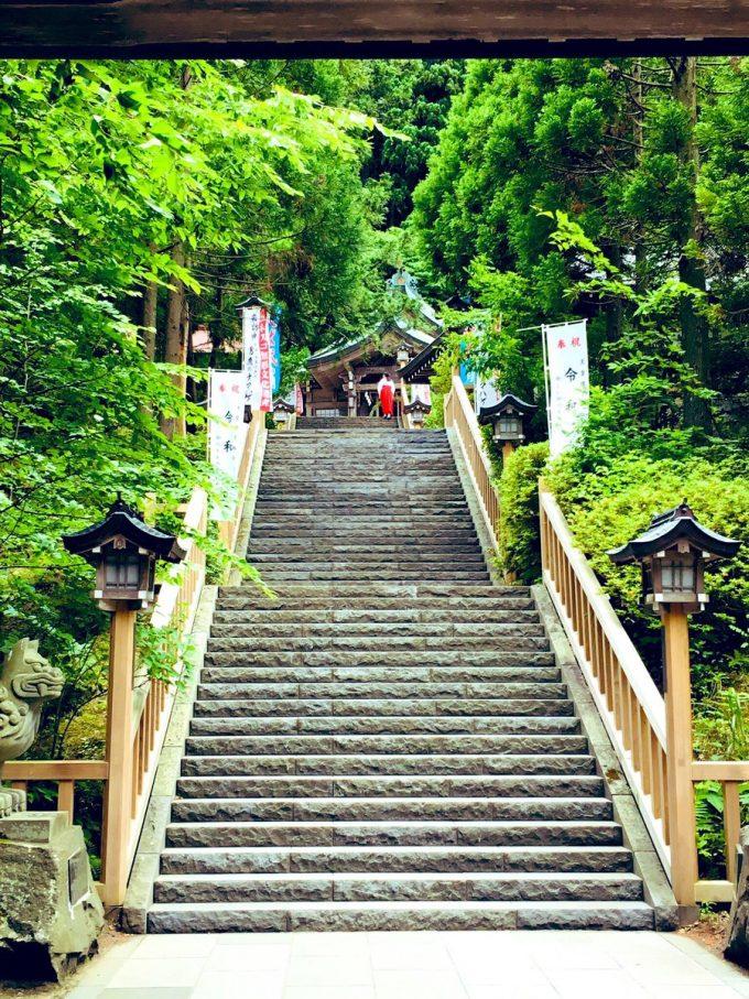 秋田 パワースポット男鹿 真山神社