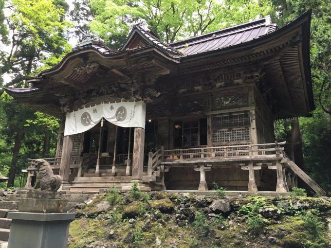 青森 パワースポット十和田神社