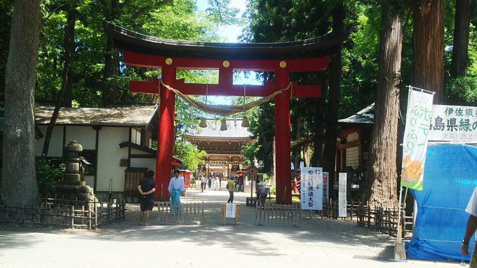 福島県 パワースポット 岩代國一之宮 伊佐須美神社