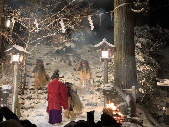 秋田 パワースポット真山神社