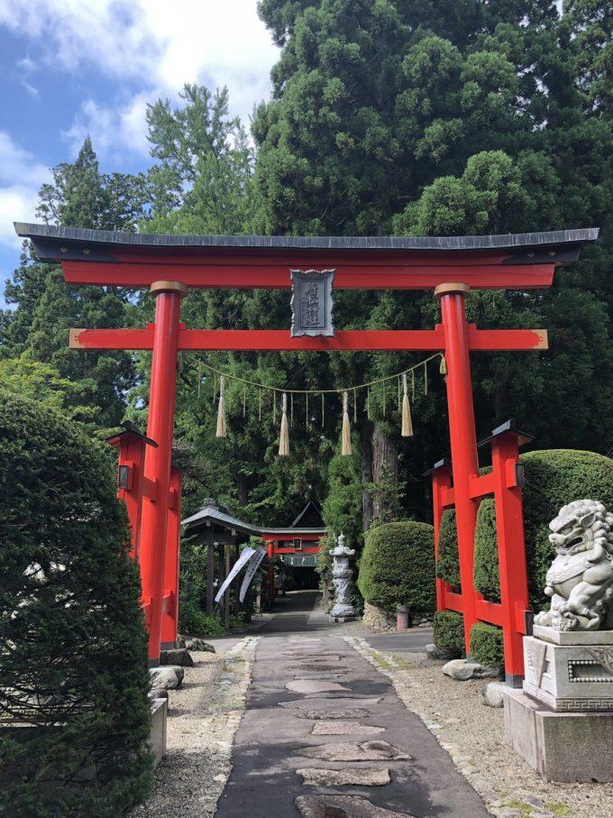 秋田 パワースポット唐松神社