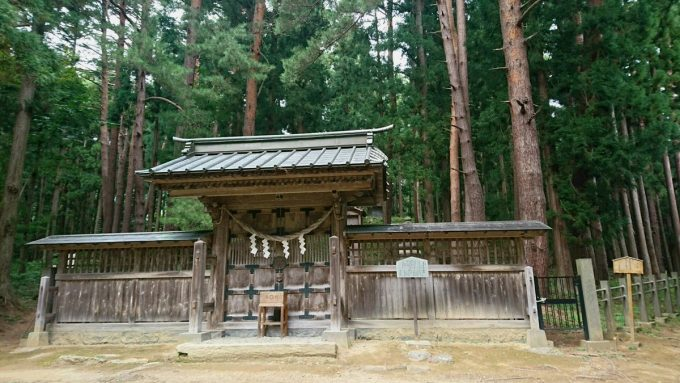 福島県 パワースポット 土津神社 奥の院