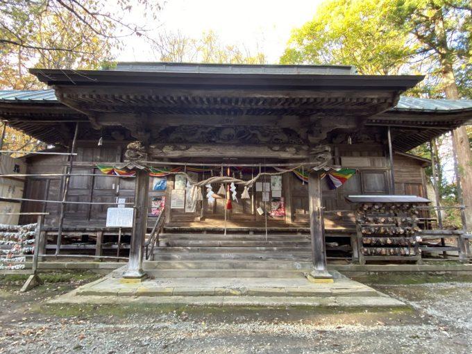 福島県 パワースポット 磐椅神社