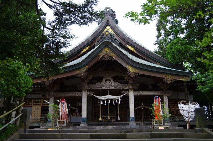 秋田 パワースポット太平山三吉神社