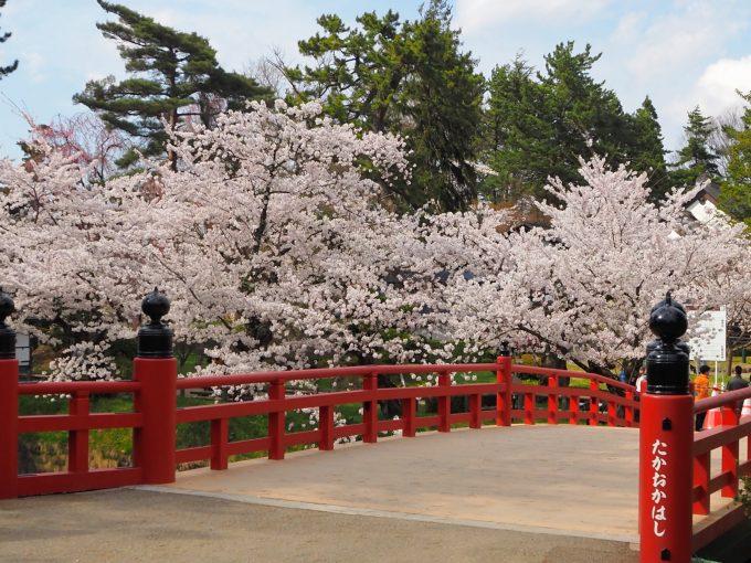 弘前公園 鷹丘橋(たかおかばし)