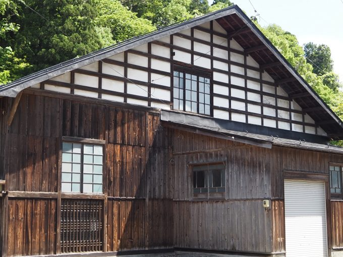 秋田 角館 旧角館製糸工場 太田家の蔵