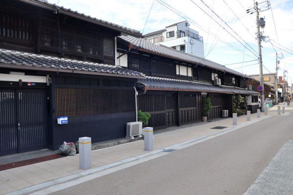四家道は名古屋の小京都