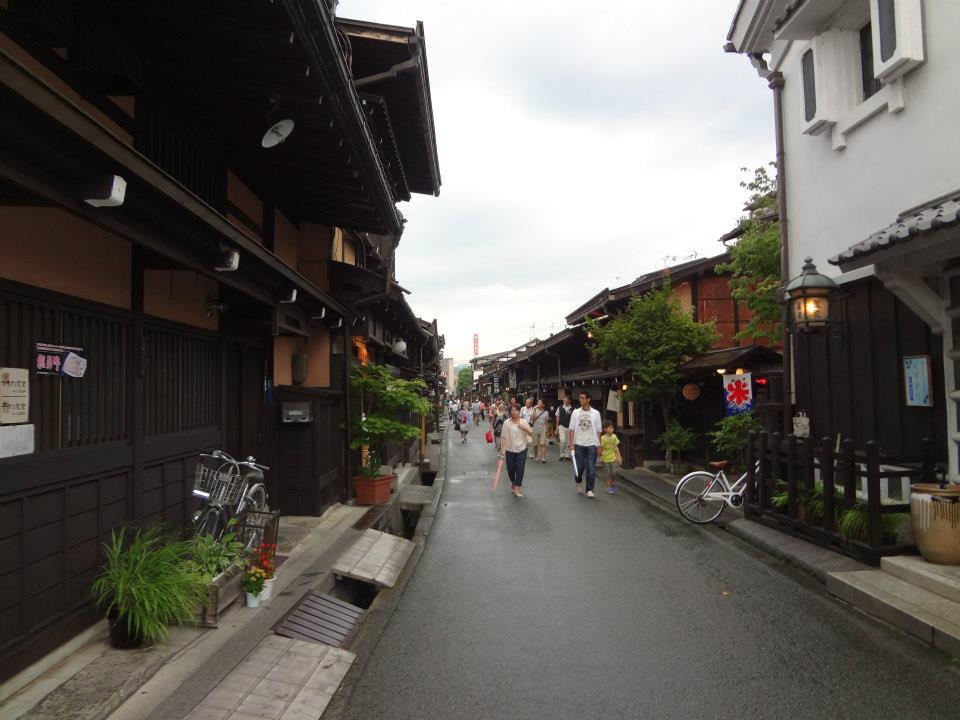 飛騨高山の街並み