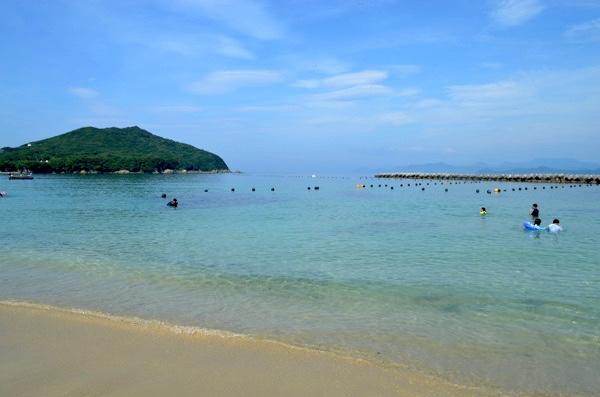 御座白浜海水浴場