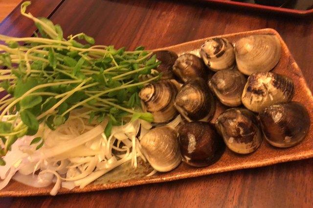 桑名蛤料理 貝新