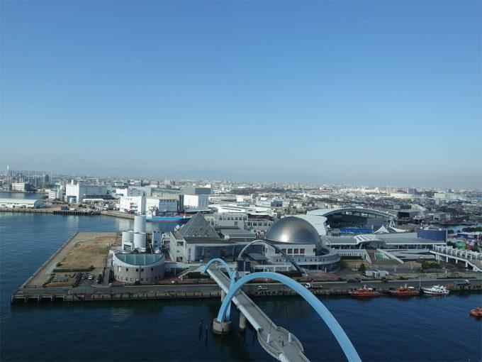 名古屋港ポートビル展望室