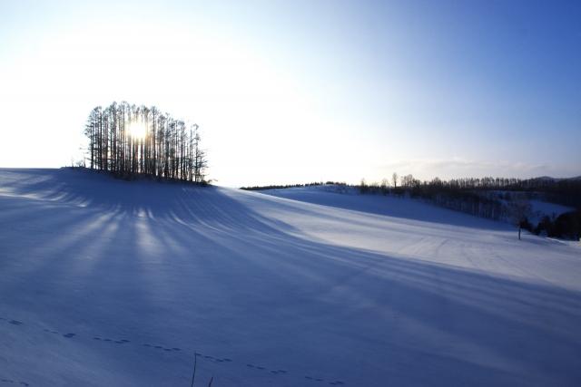 3月の北海道