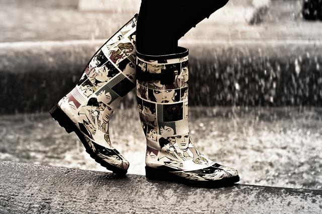 冬道の滑らない歩き方