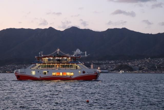 厳島神社は航海安全のご利益